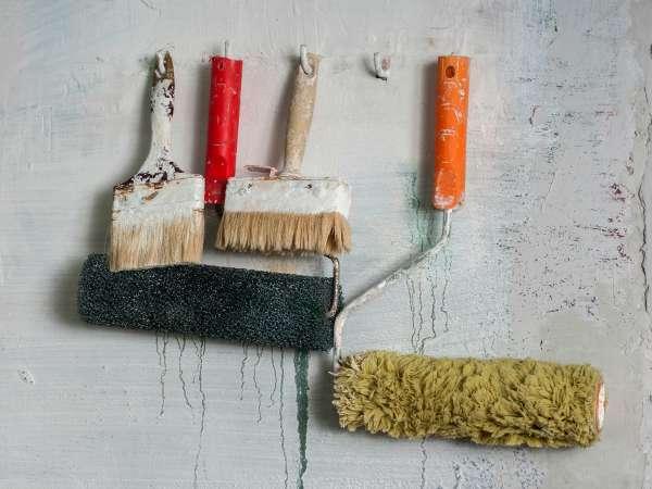 C mo limpiar brochas y rodillos de pintura trucos de bricolaje - Brochas pintura ...