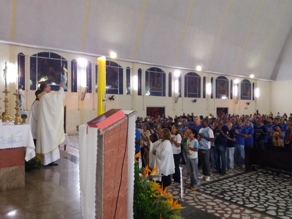 MISSA VOTIVA DE NOSSA SENHORA DA IMACULADA CONCEIÇÃO - PNSC-STA.CRUZ - EM 08/05/2017