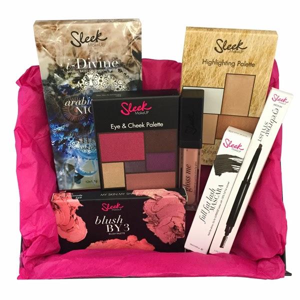 Christmas Gift Ideas: Sleek MakeUP Party Box Gift Set | Spex ...