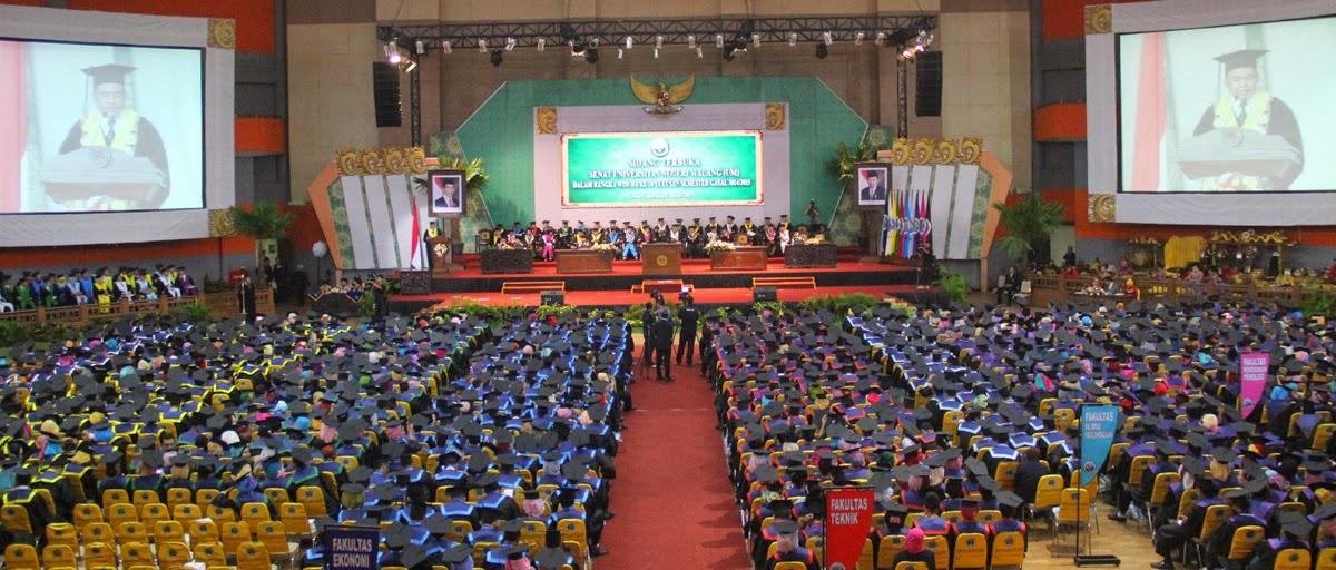 Wisuda UM Semester Gasal Tahun Akademik 2014/2015