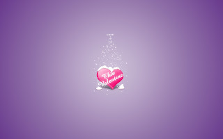 dark purple valentine's heart