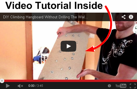 Climbing Hangboard Video Totorial