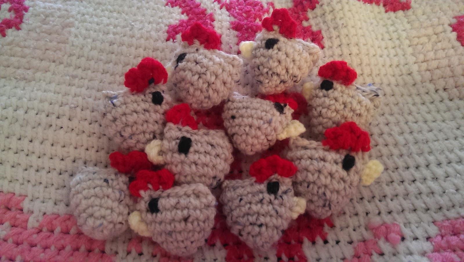 Catty Crochet: Tiny Chickens Pattern