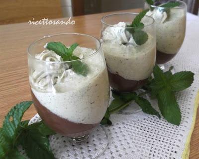 Semifreddo cioccomenta ricetta dessert