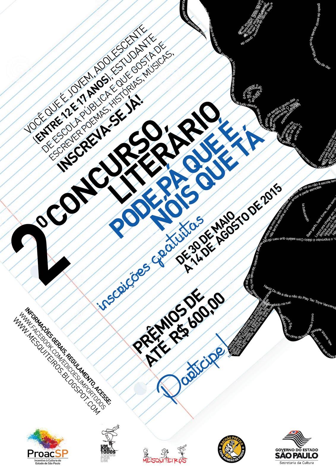 #02 CONCURSO LITERÁRIO