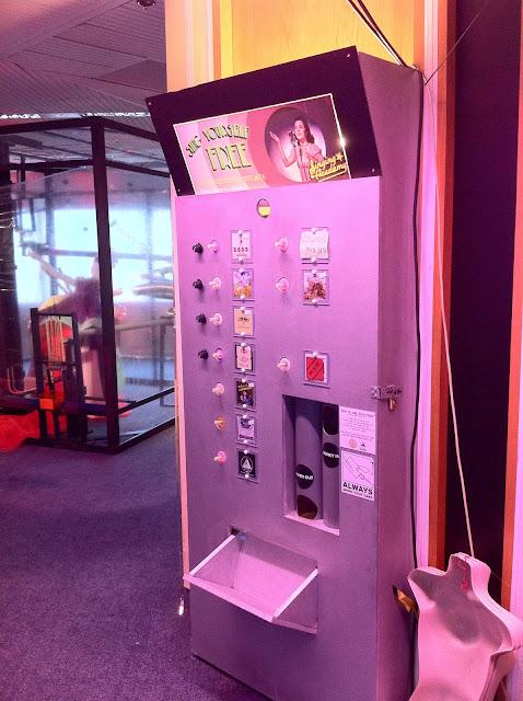 Secret+Cinema+London+human+vending+machine