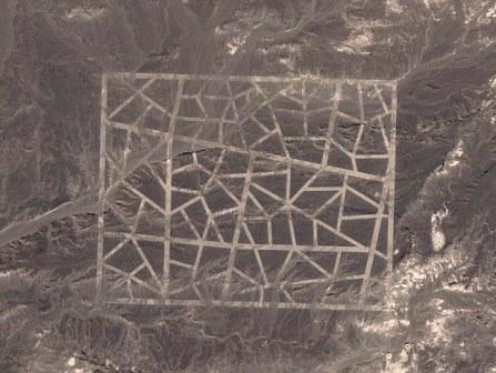struktur aneh gurun gobi
