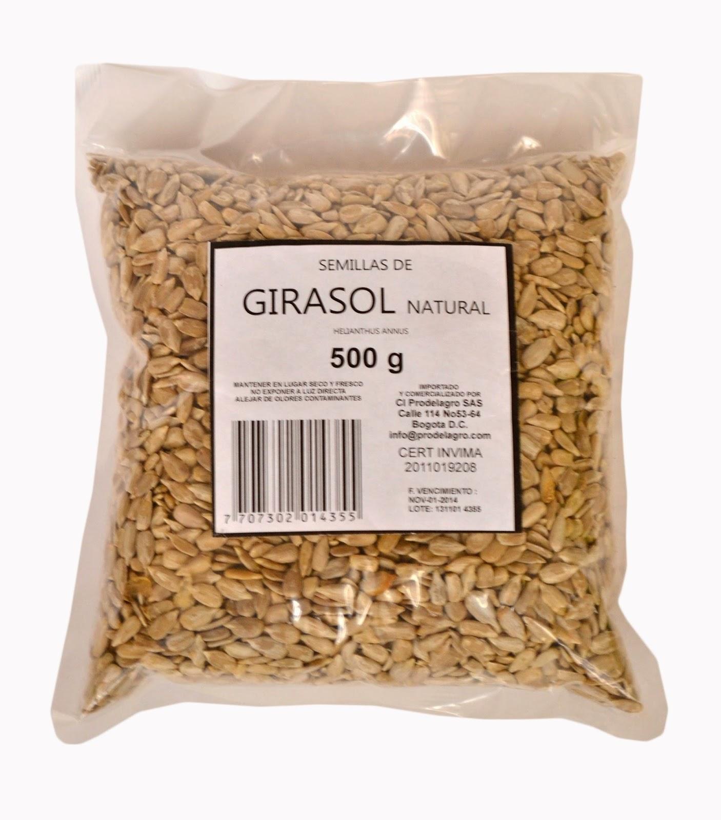 usos de la semilla de girasol