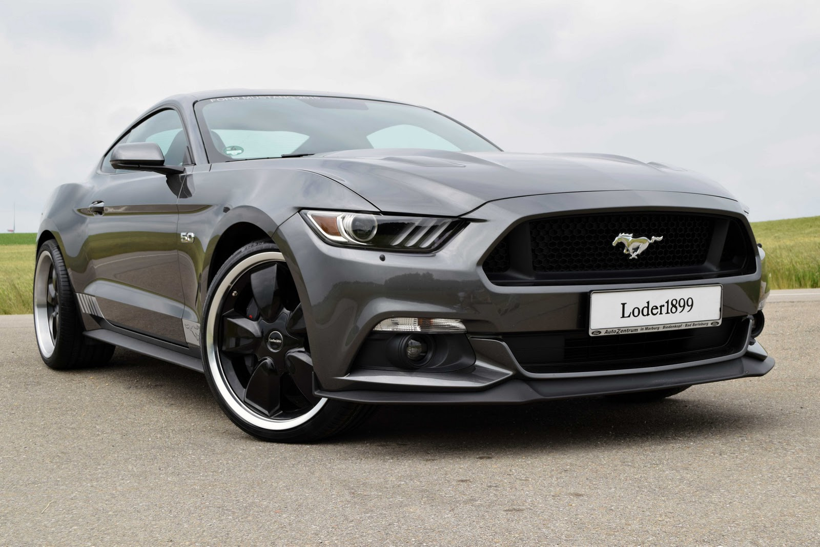 loder1899 kicks off 2015 ford mustang tuning with new wheels. Black Bedroom Furniture Sets. Home Design Ideas