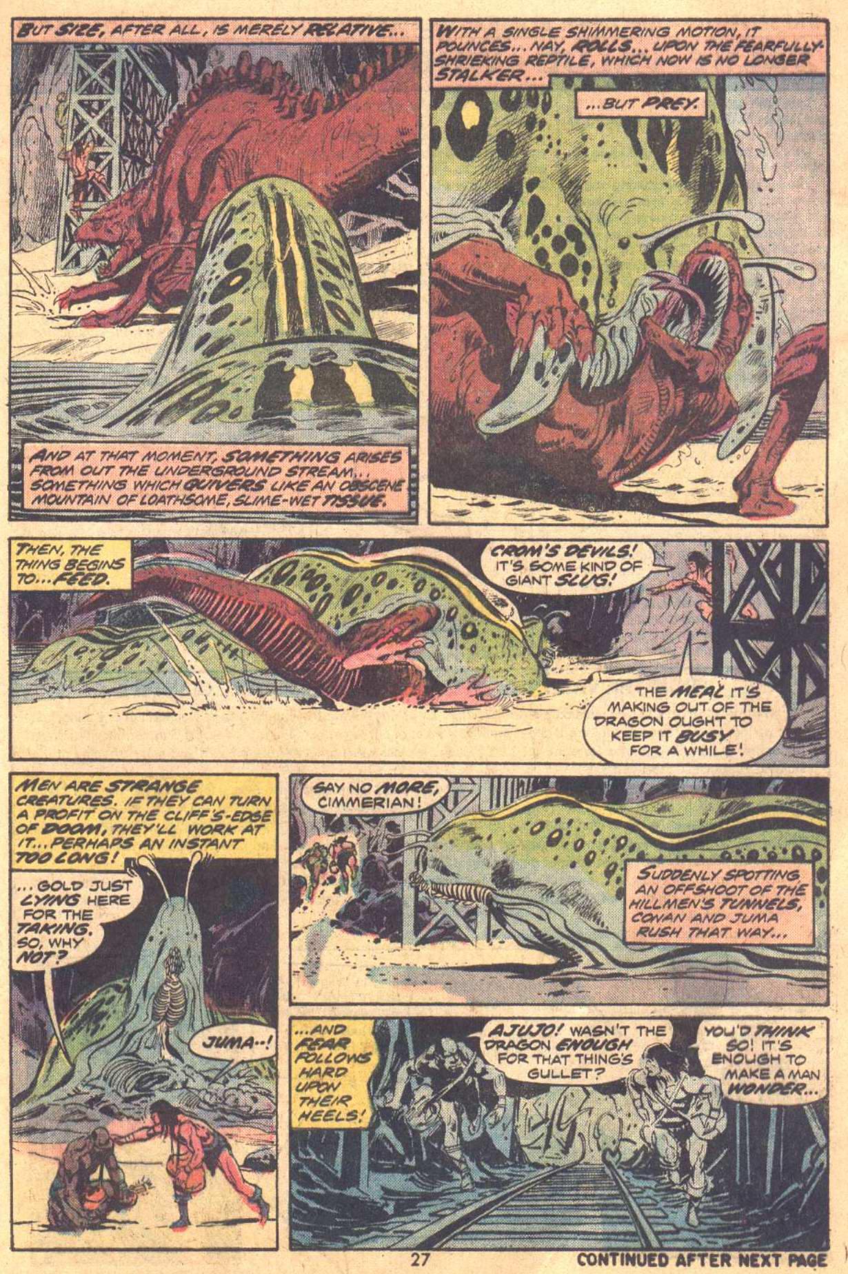 Conan the Barbarian (1970) Issue #37 #49 - English 17