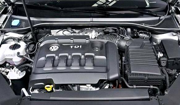 2016 Volkswagen Passat TDI Engine