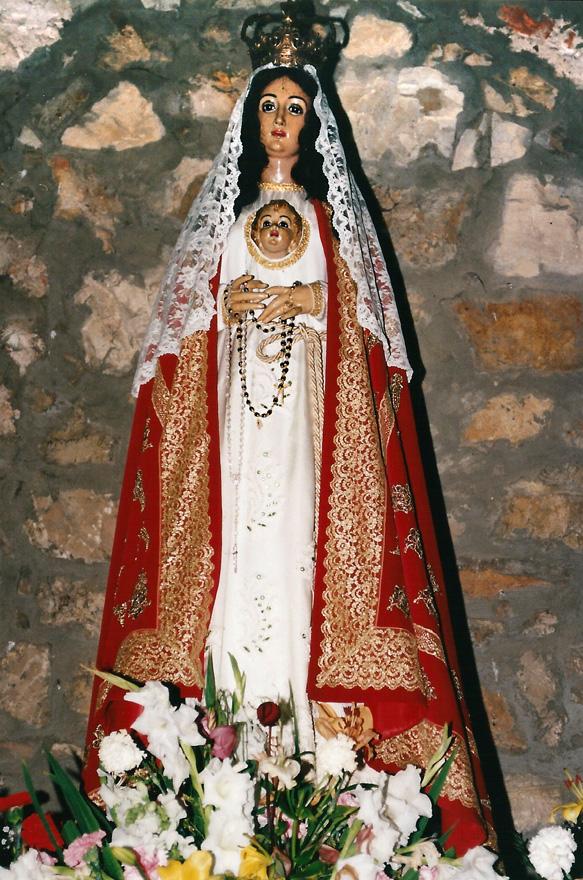 Virgen de la Luz en Avilés