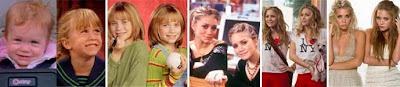 Evolución hasta la actualidad de las gemelas Olsen