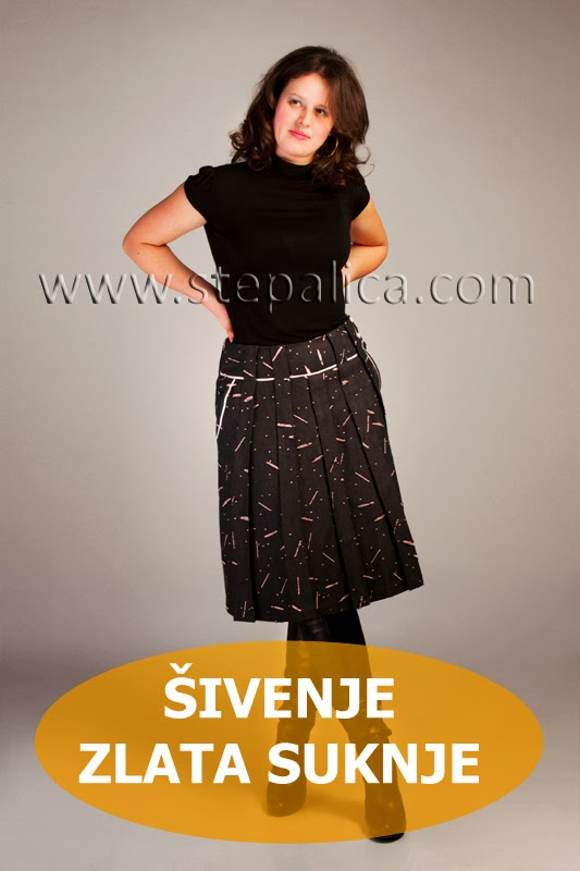 Štepalica Krojevi: Šivenje Zlata suknje