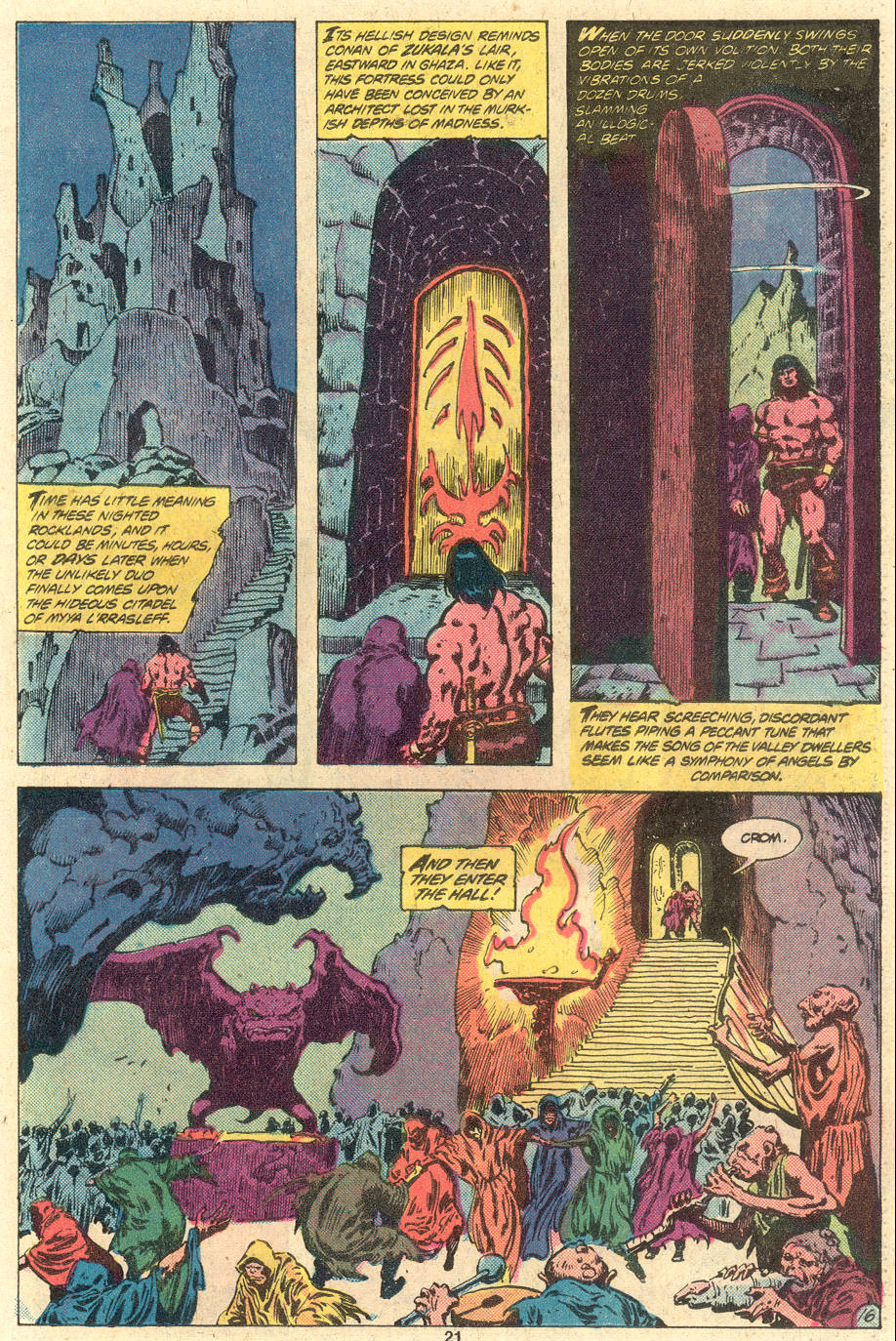Conan the Barbarian (1970) Issue #118 #130 - English 17