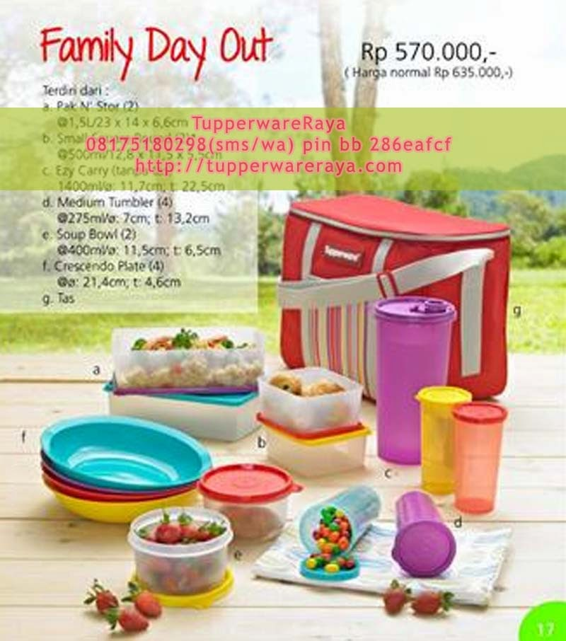 Tupperware Promo Oktober 2013 - Family Day Out
