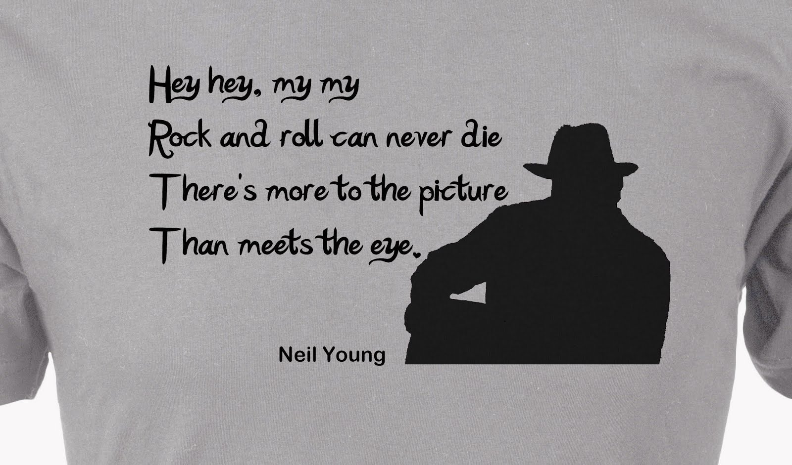 Neil Young Custom T-Shirt