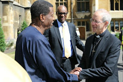 Archbishop of Canterbury Receives General Overseer of Redeemed Christian Church of God