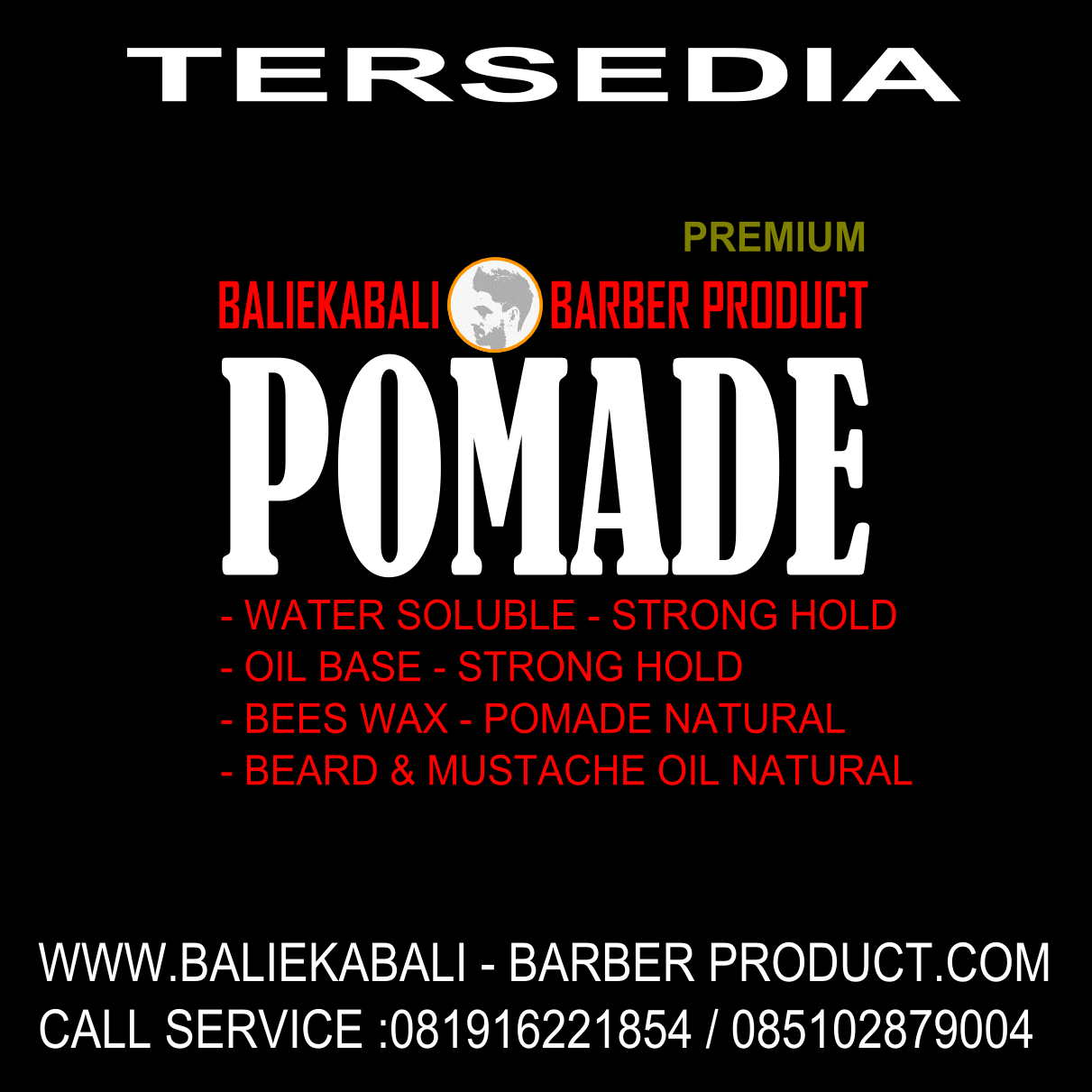 BALI BARBER PRODUCT