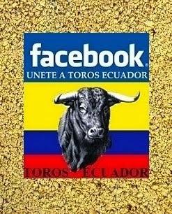 TOROS ECUADOR EN FACEBOOK