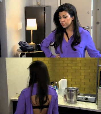 Get The Look: Kourtney Kardashian Open Back Top