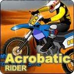 เกมส์ แข่งมอเตอร์ไซค์วิบาก Acrobatic Rider Game