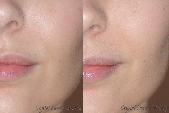 Poudre pressée Contrôle Couleur CC d'Annabelle - Colour Control Pressed Powder - Before After