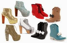 Kumpulan Model Sepatu Wanita Terbaru 2014