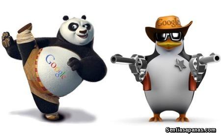 Apa itu Google Panda Dan Google Penguin