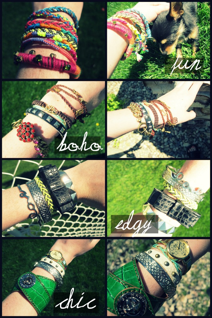 snowing Love: BDIB: arm party.