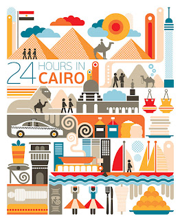 24 hours Round trip , travel posters