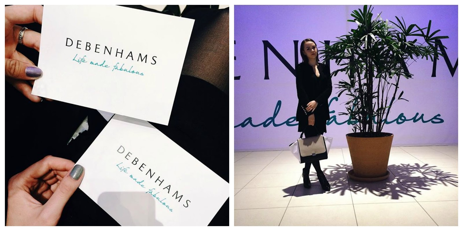 Debenhams opening in Moscow | Alina Ermilova | Fashion blogger