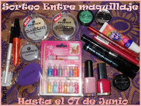 Sorteo en el blog Entre Maquillaje