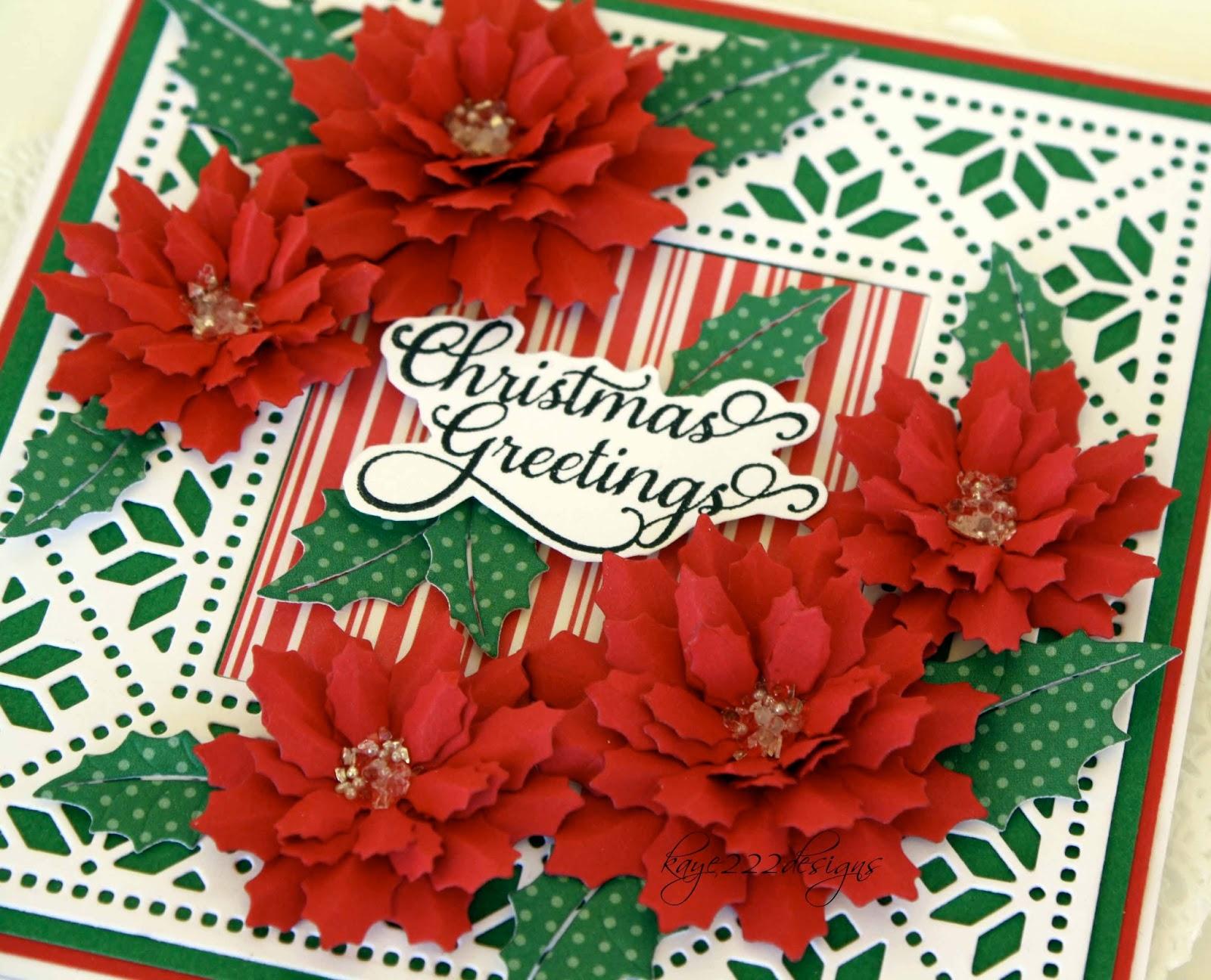 Beyond beauty christmas greetings with cheery lynn designs cheery lynn designs dies used kristyandbryce Images