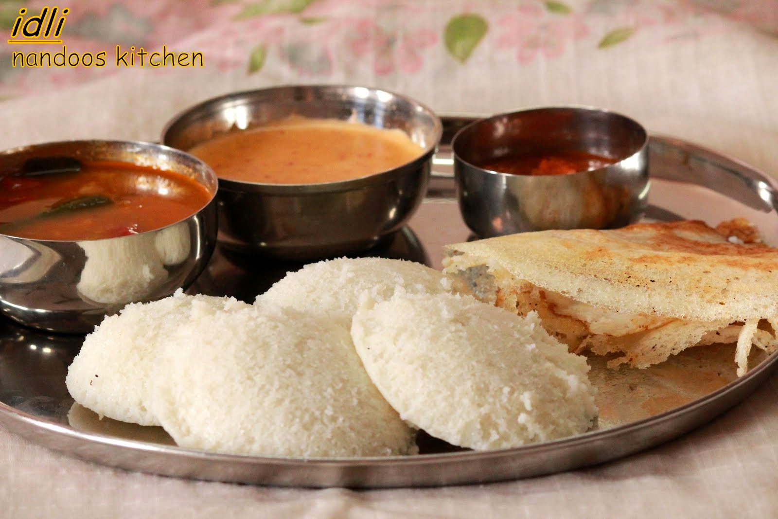 how to make soft and spongy idli