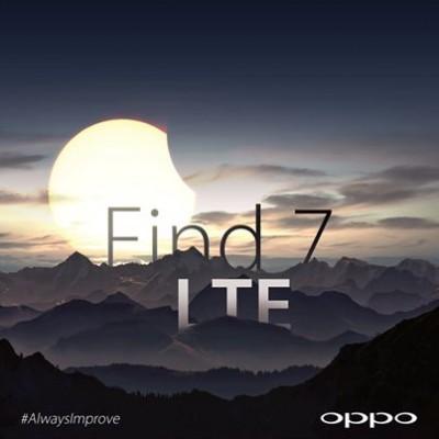 Oppo: Find 7 Dukung 4G/ LTE