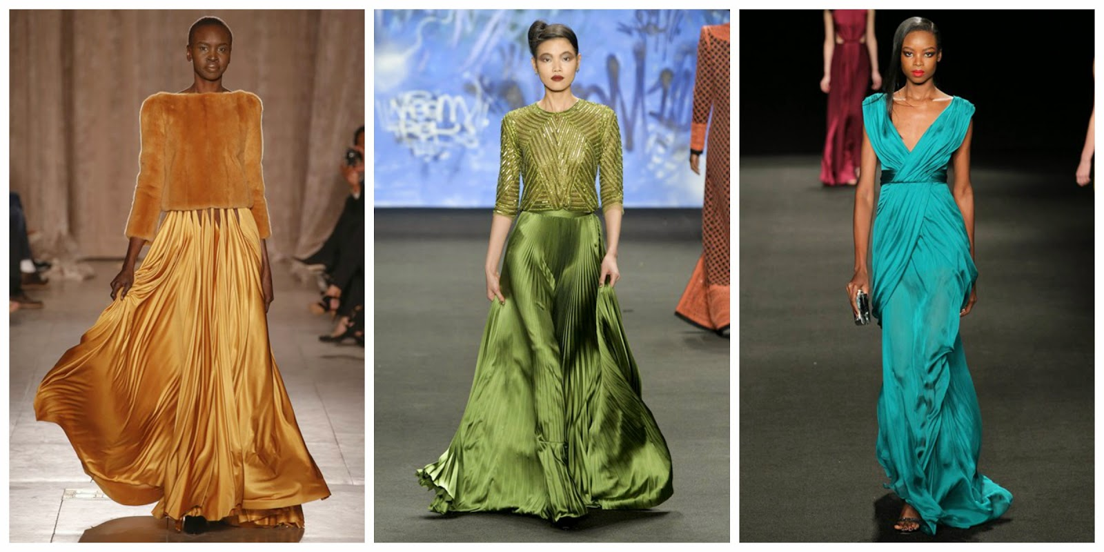 evening dress aw15 nyfw trend report blogger fashion luxury