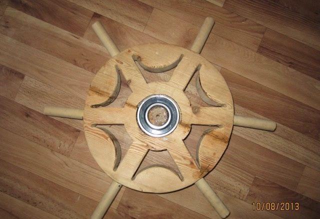 Деревянный руль своими руками для детей