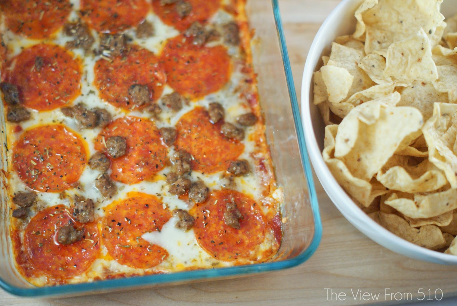 Meat Lover's Pizza Dip - Wholehearted Finishing
