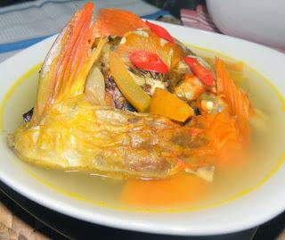 Soup asam Manis Ikan Mas