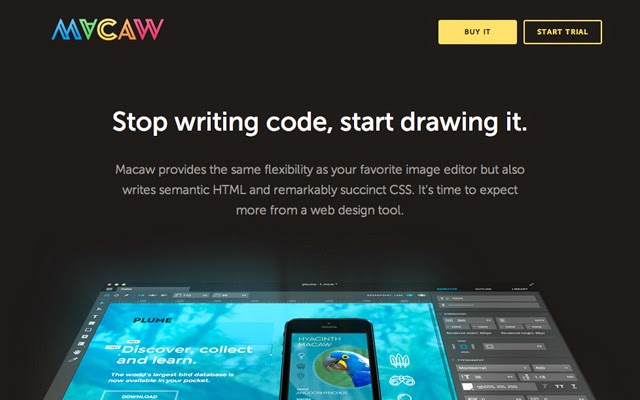 Macaw - CSS Tools
