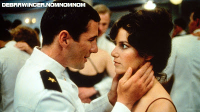 Richard Gere Debra Winger 80's man in uniform fantasy