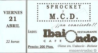 entrada de concierto de m.c.d