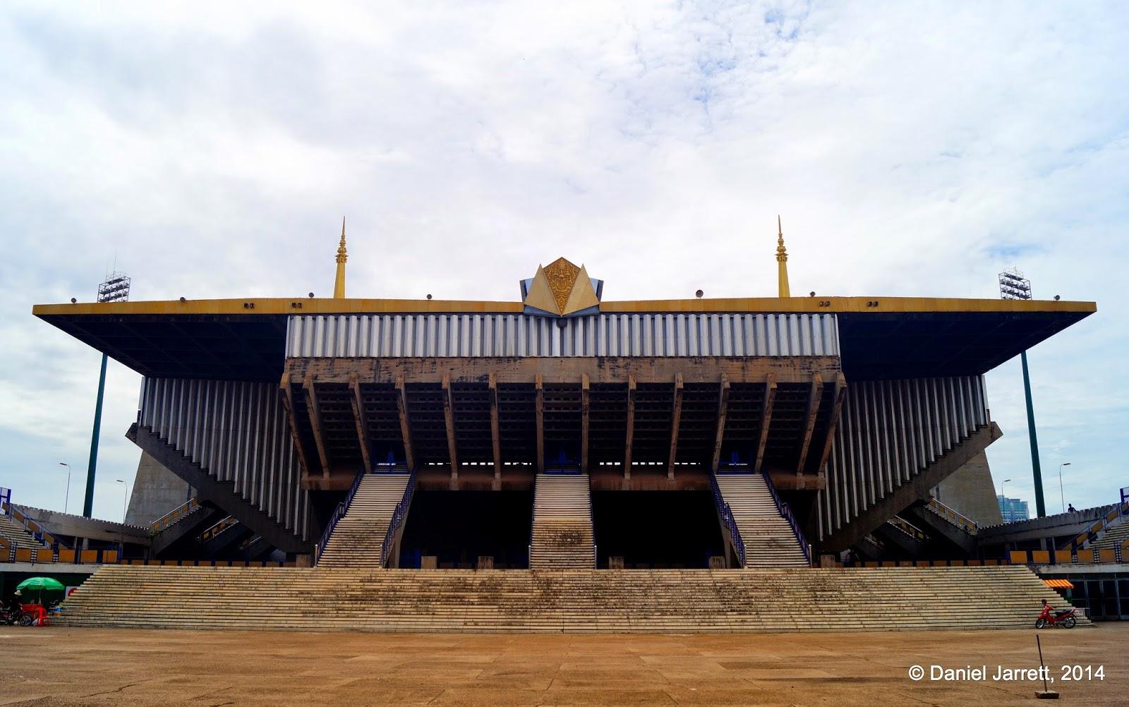 Phnom Penh Olympic Stadium, Cambodia