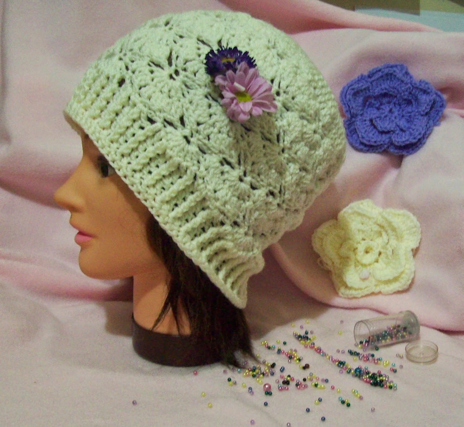 Free Crochet Butterfly Patterns For Hats : Free Crochet Patterns By Cats-Rockin-Crochet