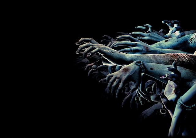 iğrenç korkutucu vahşi hayaletler zombiler masaüstü arka plan resimleri