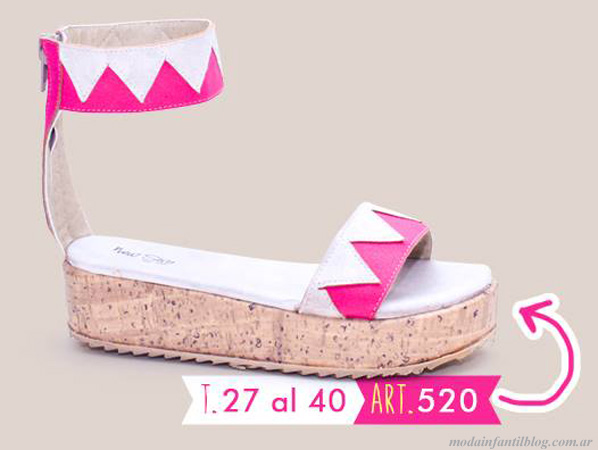 moda infantil zapatos verano 2014