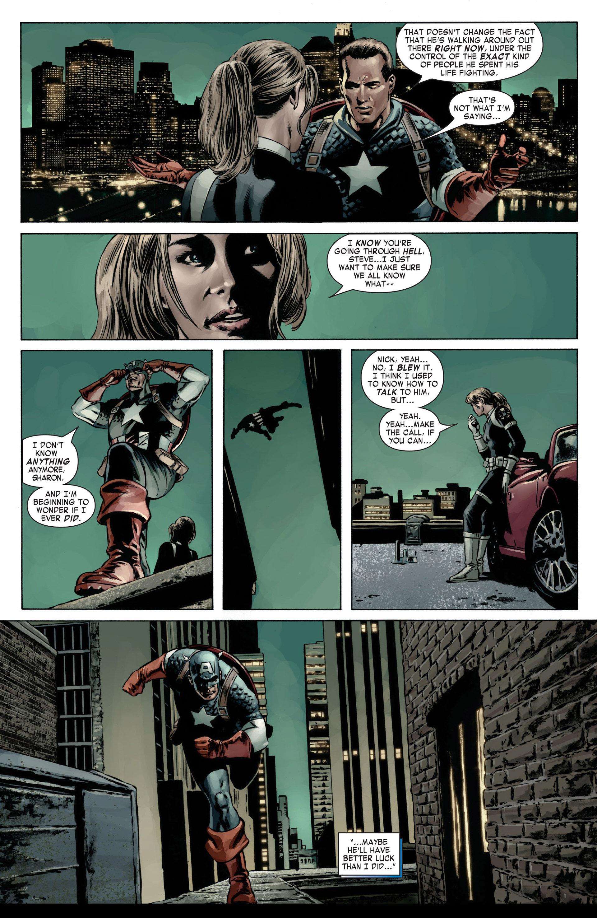 Captain America (2005) Issue #12 #12 - English 11