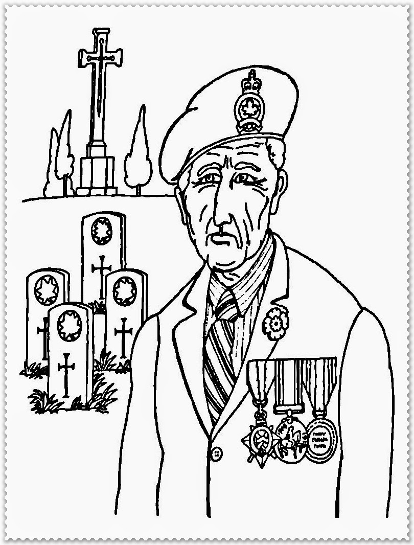remembrance day coloring pages printable