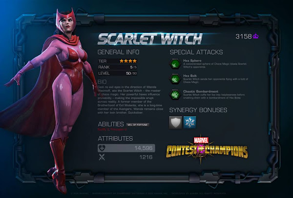 Marvel Contest of Champions: Scarlet Witch